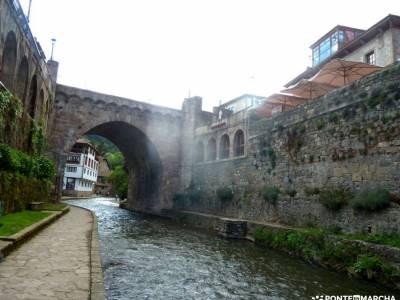 Ruta Cares-Picos de Europa; mirador de las canchas ruta laguna de peñalara cascadas del hervidero m